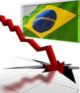 brasil crescendo para baixo economia recessao brazil PT quebrou brasil